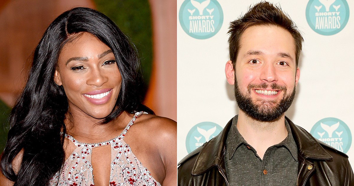 Serena williams and her fiance-3269