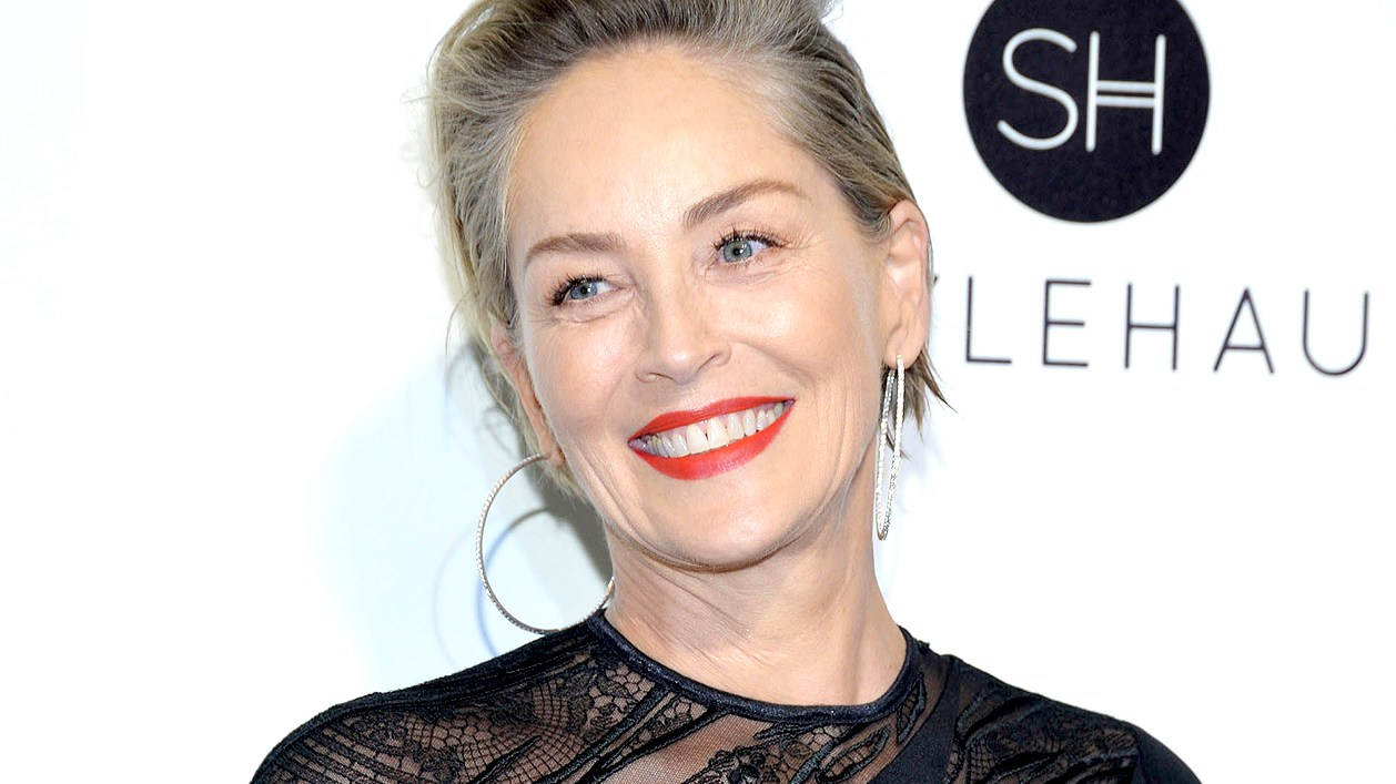 Sharon Stone attends the 25th Annual Elton John AIDS Foundation's Academy Awards Viewing Party at The City of West Hollywood Park on February 26, 2017 in West Hollywood, California.