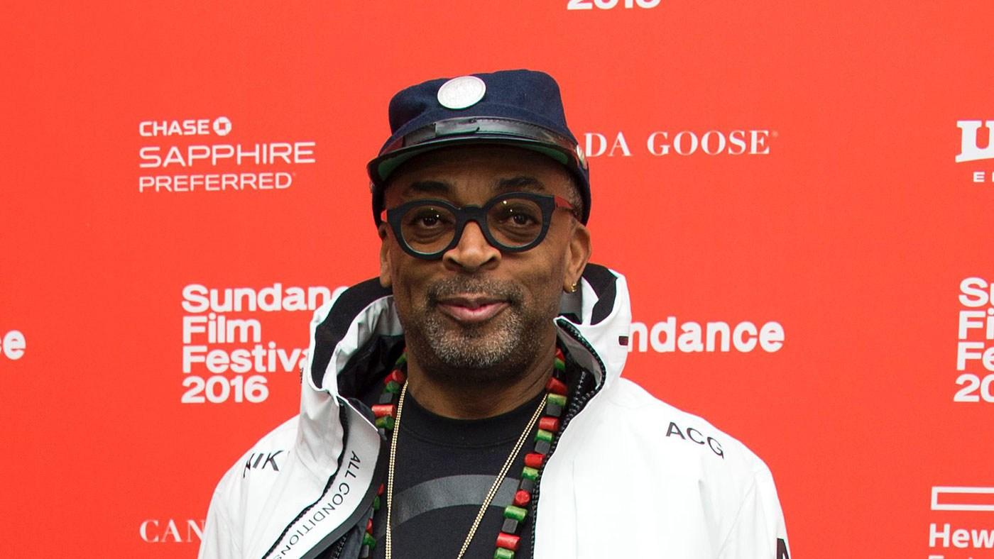 Spike Lee at Sundance.