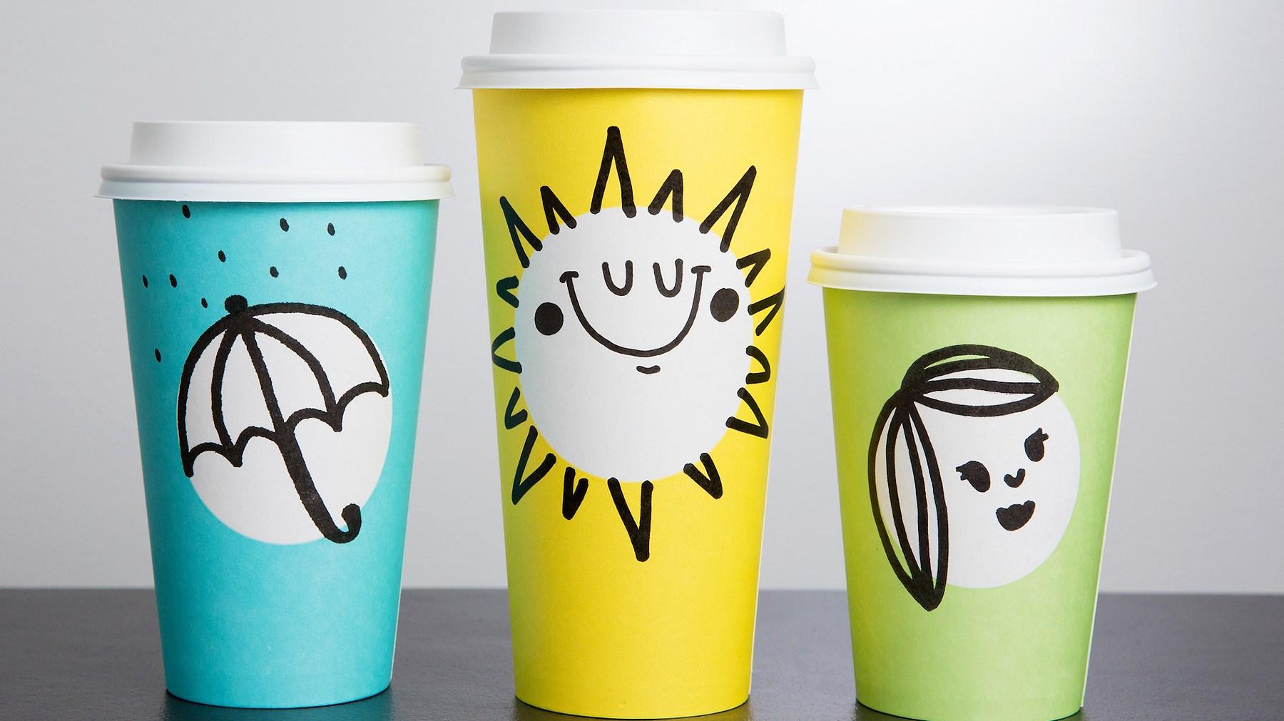 Starbucks' Pastel Cups