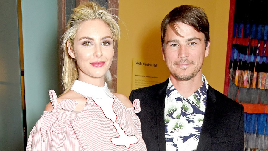 Tamsin Egerton and Josh Hartnett attend the Royal Academy of Arts Summer Exhibition preview party in London on June 7, 2017.