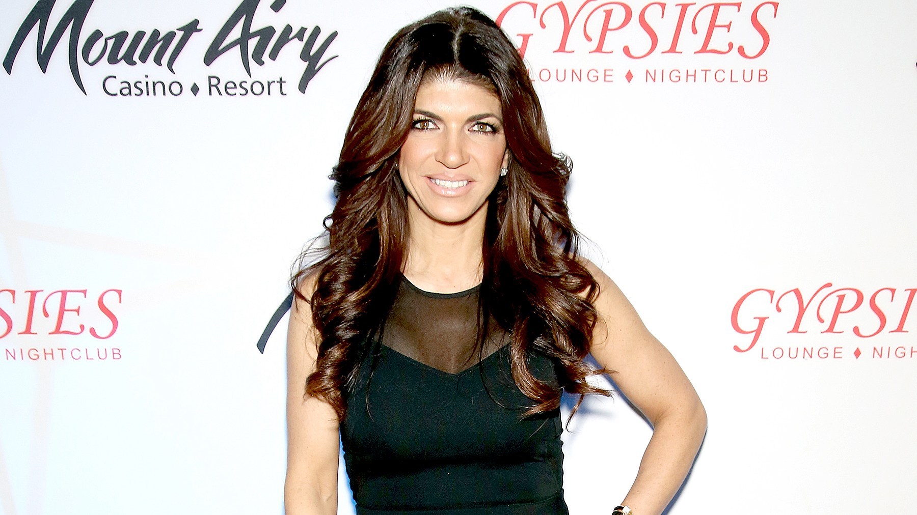 Teresa Giudice, star of The Real Houswives of New Jersey, appears at Mount Airy Resort Casino for a book signing and meet and greet on March 5, 2016 in Mount Pocono City.