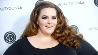 Tess Holliday attends the 5th annual Beautycon festival at Los Angeles Convention Center on August 13, 2017 in Los Angeles, California.