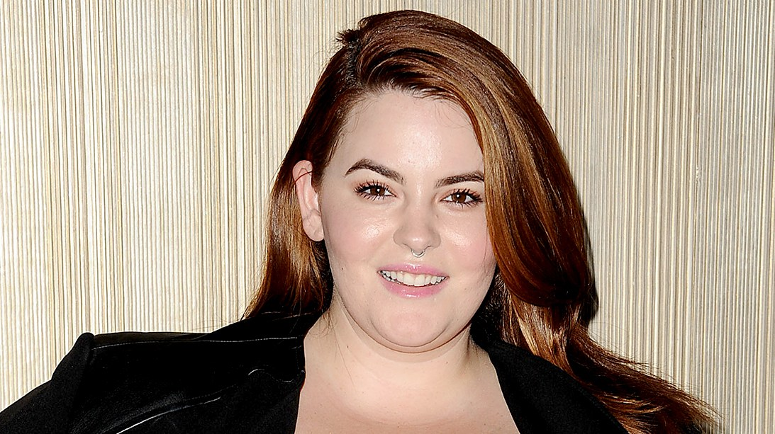 Tess Holliday attends the Dinner With a Cause 18th annual gala at JW Marriott Los Angeles at L.A. LIVE on October 15, 2015.