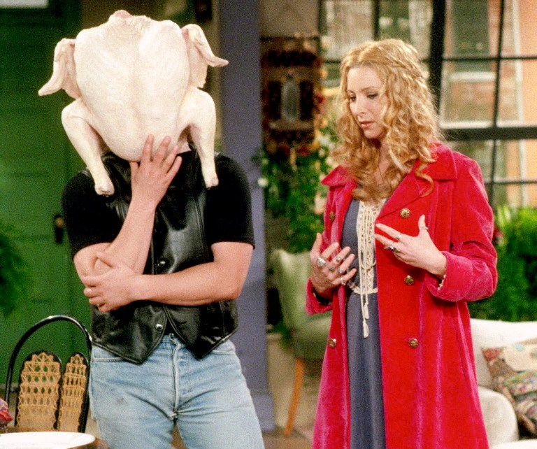 Friends: The One With All the Thanksgivings