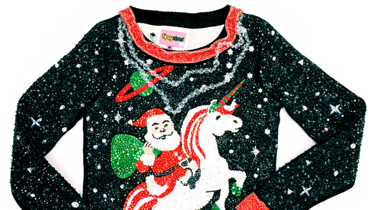 See the World\'s Most Expensive Ugly Christmas Sweater: Pic