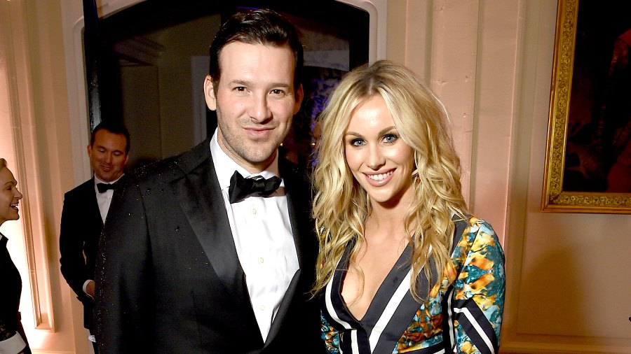 Tony Romo Candice Crawford Romo Welcome Third Son