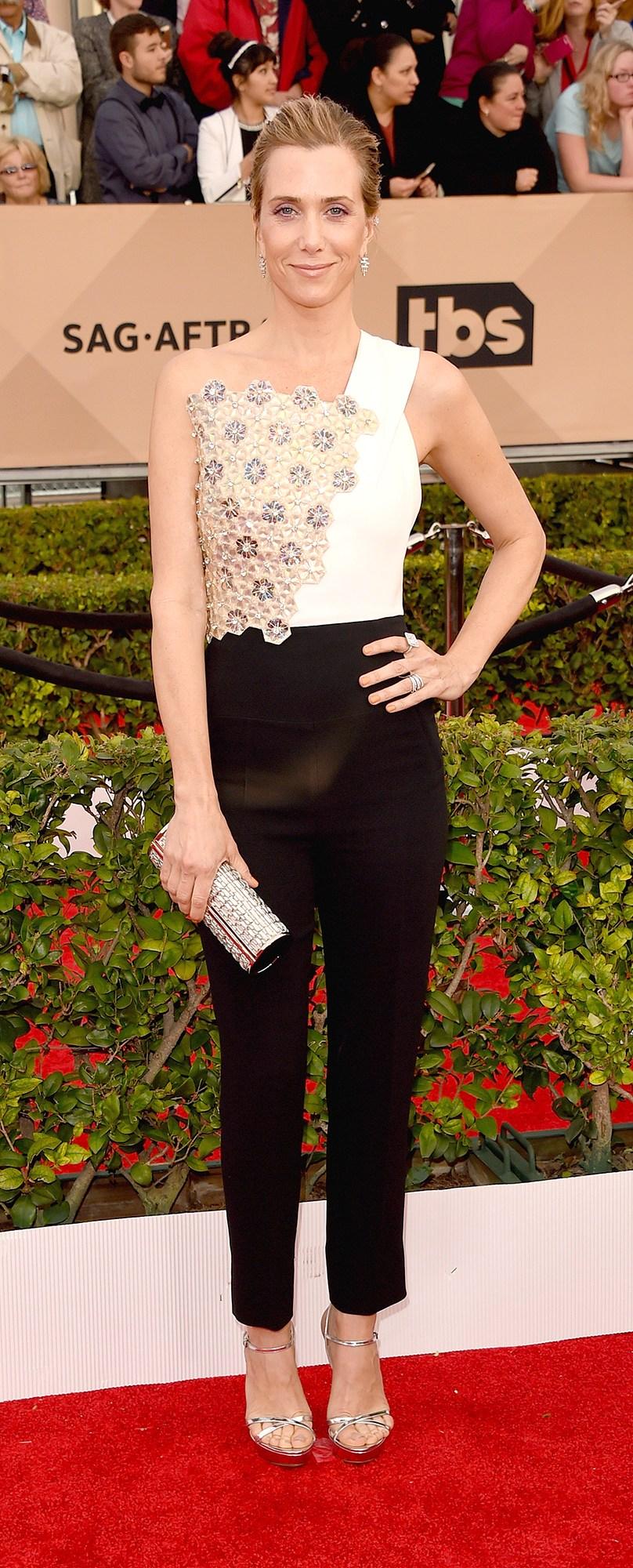 Kristen Wiig SAG Dress Award