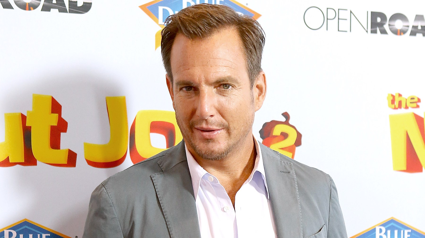 "Will Arnett arrives to the Los Angeles premiere of ""The Nut Job 2: Nutty By Nature"" held at Regal Cinemas L.A. Live on August 5, 2017 in Los Angeles, California."