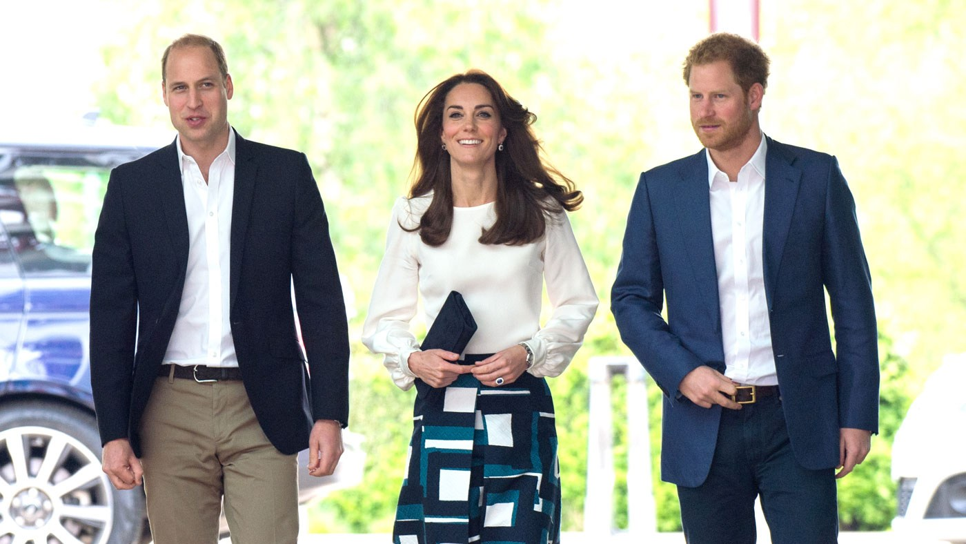 Kate Middleton, Prince William and Prince Harry launch 'Heads Together'