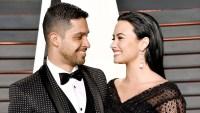 Wilmer Valderrama and Demi Lovato arrives at the 2016 Vanity Fair Oscar Party.