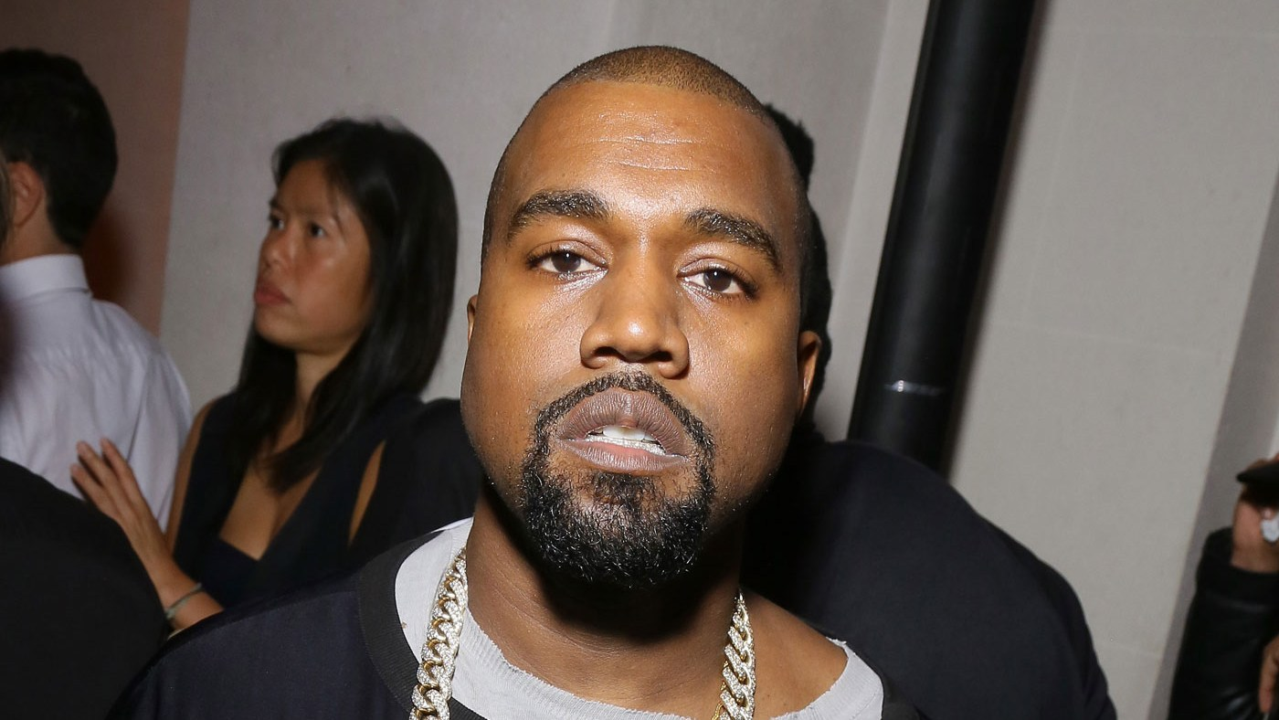 Kanye West attends Vogue 95th Anniversary Party