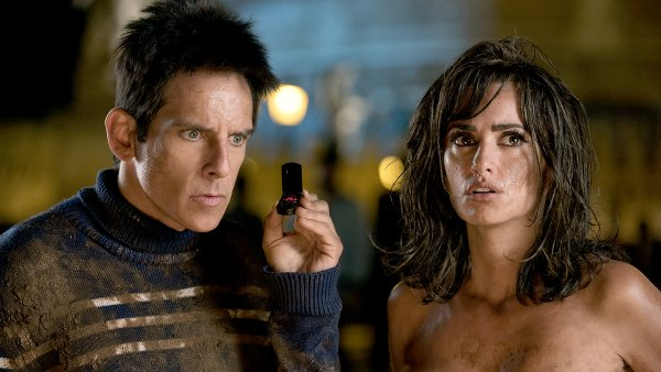 Ben Stiller plays Derek Zoolander and Penelope Cruz plays Valentina Valencia in Zoolander 2.