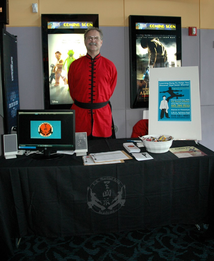 2011 May Regal Hunt Valley movie tabling for Kung Fu Panda 2