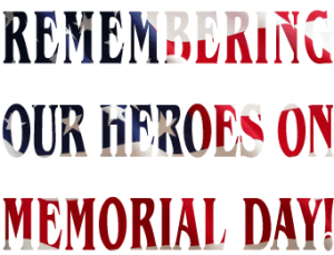 Memorial Day clip art created by Maricar Jakubowski