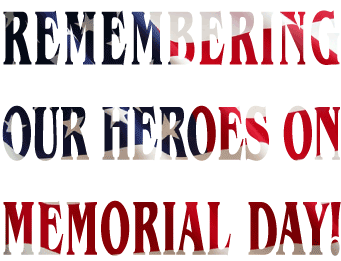 Memorial Day clip art created by Maricar Jakubowski