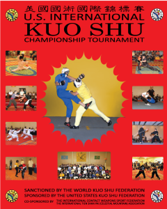 US International Kuo Shu Championship Tournament poster