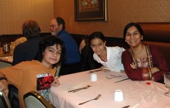2013 Chinese New Year luncheon at Szechuan House, Lutherville, Maryland 21093 -- students and staff