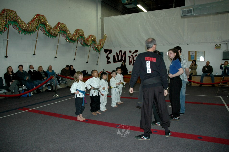 March 2013 In-house Tournament at U.S. Martial Arts Academy, Ltd. Timonium, Maryland