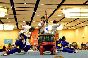 Opening Ceremony at the 2013 U.S. International Kuo Shu Championship Tournament in Hunt Valley, Maryland