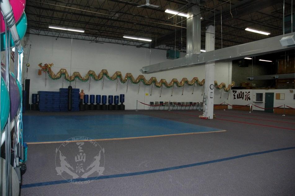 Main classroom at US Martial Arts Academy, Ltd., Timonium, Maryland