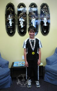 U.S. Martial Arts Academy, Ltd. medal winner at 2012 April 21 Grandmaster Huang's Tien Shan Pai Legacy Tournament at U.S. Martial Arts Academy, Ltd. inTimonium, Maryland