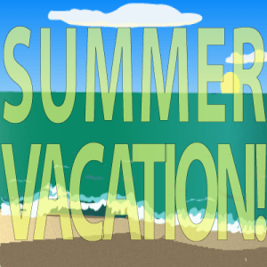 Summer Vacation clip art