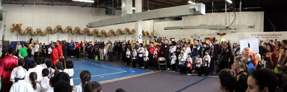 April 2014 Grandmaster Huang's Tien Shan Pai Legacy Tournament at US Martial Arts Academy Ltd, Timonium, Md 20193