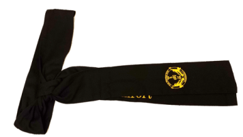US Martial Arts Academy, Ltd. First Degree Black Sash presented to successful candidates of the Black Sash program and test