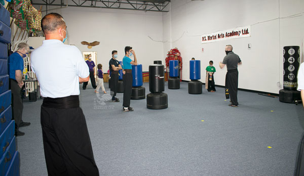 Virtual Black Sash Class at US Martial Arts Academy, Ltd in Cockeysville, Maryland 21030, www.usmaltd.com, 410-561-9882. ©2020 Maricar Jakubowski   All rights reserved.