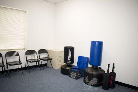 Intro Room at US Martial Arts Academy, Ltd in Cockeysville, Maryland www.usmaltd.com, 410-561-9882