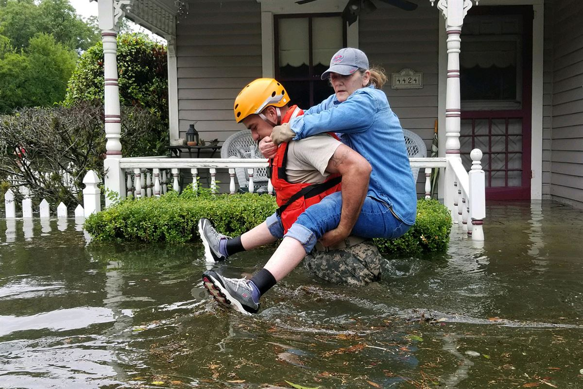 Hurricane Harvey Aid