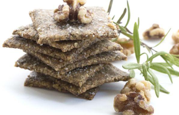 Rosemary-Walnut-Crackers