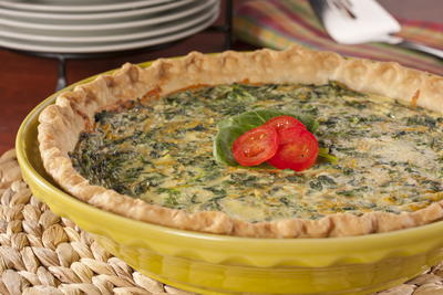 Cheesy-Spinach-Quiche