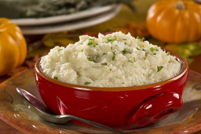 Parmesan-Mashed-Cauliflower