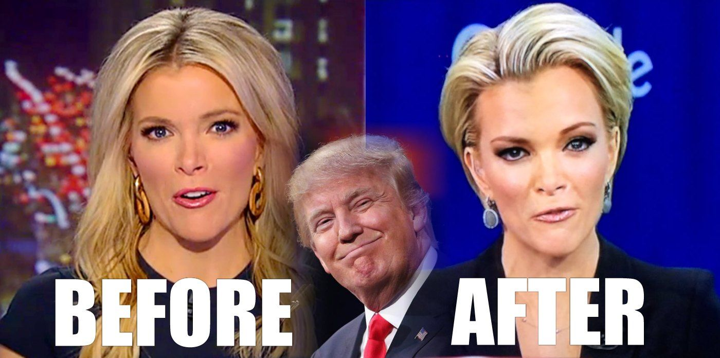 Image result for megyn kelly before after trump