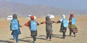 अफगानी बालबालिका विद्यालय जान पाएनन्।