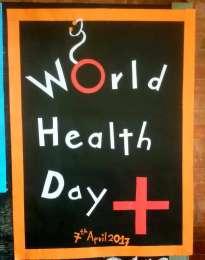 बिश्वो स्वास्थ्य दिवसको अबसरमा मनिपाल स्कुल अफ नर्सिङका छात्राहरुद्वारा पोस्टर प्रदर्शनी (फोटो फिचर)