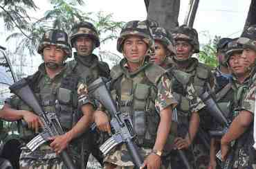 तराईमा सेना परिचालन , राजपाको नियन्त्रणमा रहेका  ५५ मतदान अधिकृत छुटे