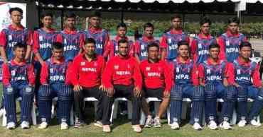एसीसी यु-१६ क्रिकेटमा आज नेपाल म्यानमारसँग खेल्दैे