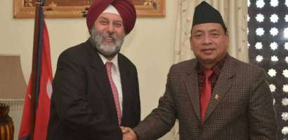 भारतीय राजदूतले भने:-'नयाँ सरकारसँग सहकार्य गर्न भारत आतुर छ'
