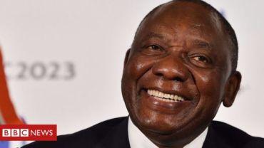 रामापोसा दक्षिण अफ्रिकाको राष्ट्रपति नियुक्त