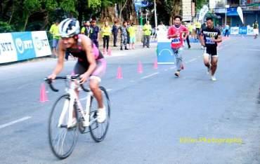 छैटौं दक्षिण एशियाली ट्रायथोलन र  दुवाथलन च्याम्पियनसिप पोखरामा (फोटो फिचेर)