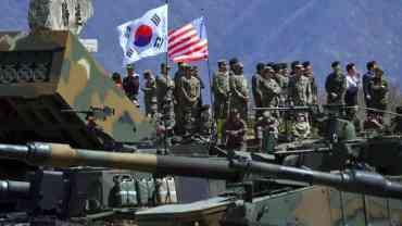 ट्रम्पले दक्षिण कोरियामा अमेरिकी सैनिकको संख्या घटाउने