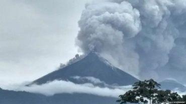 ग्वाटेमालामा ज्वालामुखी विस्फोट,दर्जनौँको मृत्यु