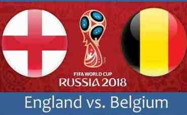 विश्वकपमा इंग्ल्याण्ड र बेल्जियम भिड्दै