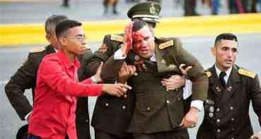 भेनेजुयलाका राष्ट्रपतिमाथि ड्रोन आक्रमण