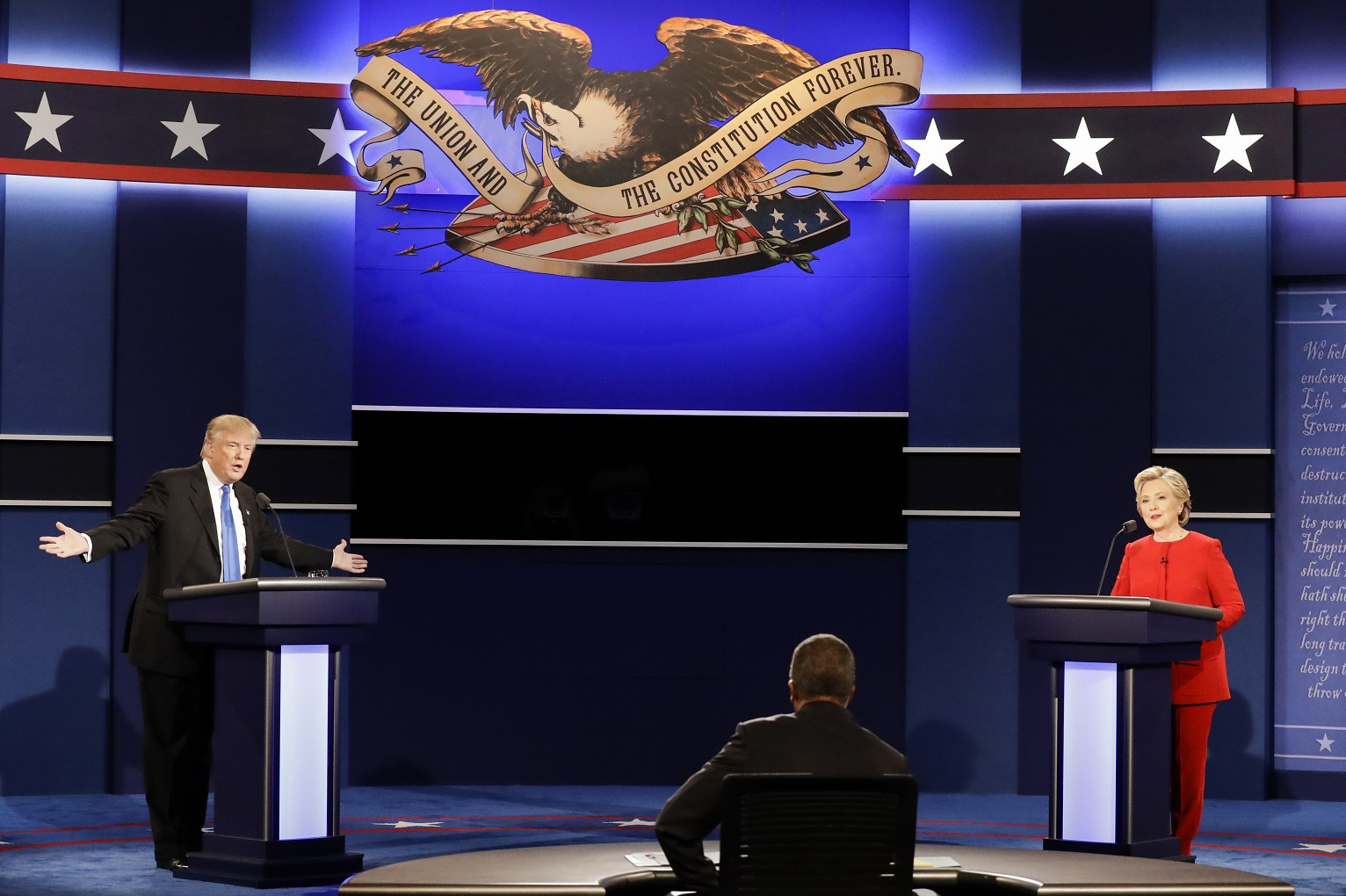 Did Hillary Clinton Win Against Donald Trump In The First Debate Views You Can Use Us News