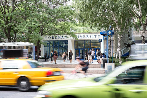Fordham University Rose Hill Campus Map