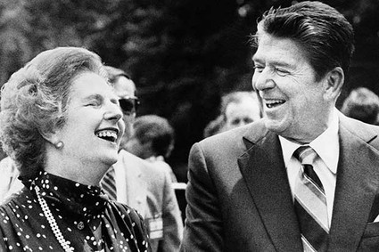 "President Ronald Reagan and Britain's Prime Minister Margaret Thatcher were ""political soulmates,""  Nancy Reagan once said."